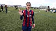 Les millors imatges de Vicky Losada amb el Barça