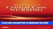 [PDF] Mobi Introduction to Critical Care Nursing, 6e (Sole, Introduction to Critical Care Nursing)
