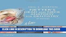[PDF] Epub Netter s Head and Neck Anatomy for Dentistry, 3e (Netter Basic Science) Full Download