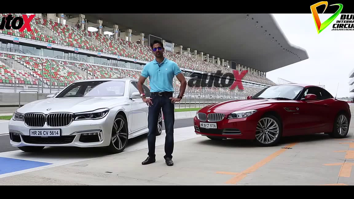 BMW Z4 vs BMW 750Li review