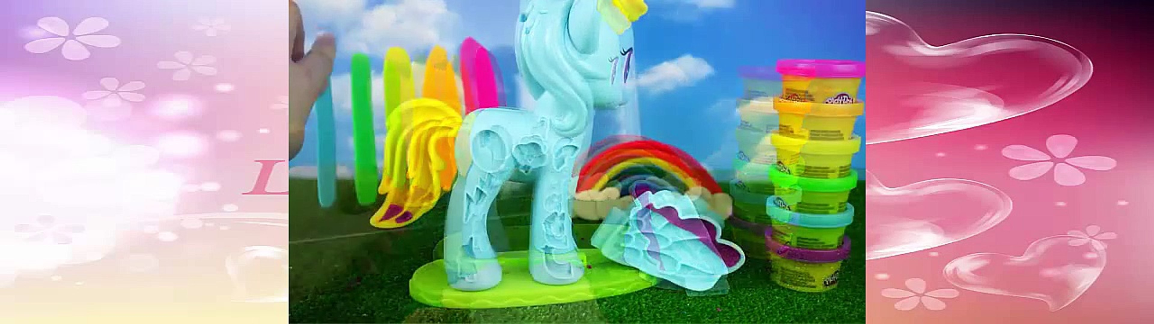 Play Doh Rainbow Dash From The Cartoon My Little Pony Rainbow Dash My Little Pony