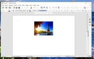 TUTO3 : Comment importer des fichiers images sur Libre Office