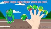 Peppa Pig Super Heroes Finger Family - Nursery Rhymes Lyrics and More_8