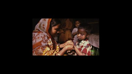 A woman in Bangladesh has pregnancy complications
