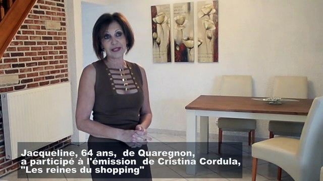 Quaregnon : Jacqueline a participé à l'émission de Cristina Cordula, 'Les reines du shopping'