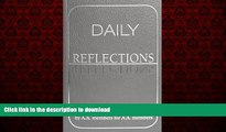 Best book  Daily Reflections  A Book of Reflections by A A  Members for A A  Members online pdf