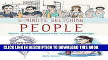 [PDF] 5-Minute Sketching -- People: Super-quick Techniques for Amazing Drawings Popular Online