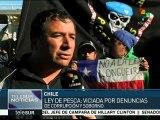 Chile: pescadores artesanalas mantienen su rechazo a la Ley de Pesca
