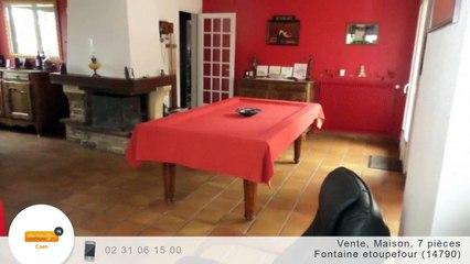 A vendre - Maison/villa - Fontaine etoupefour (14790) - 7 pièces - 130m²