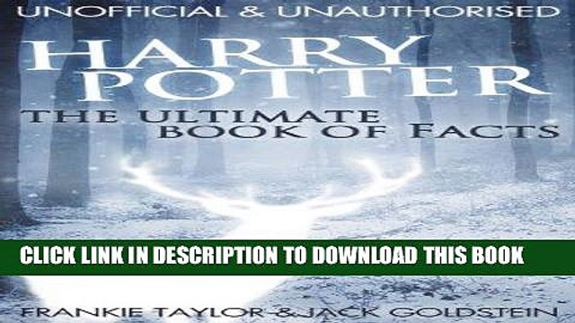 [PDF] FREE Harry Potter - The Ultimate Book of Facts [Download] Full Ebook