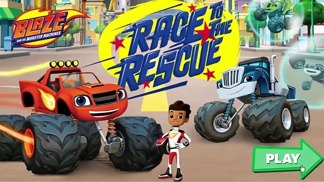 Blaze And The Monster Machines - Blaze: Race to the Rescue! Full Gameplay For Kids