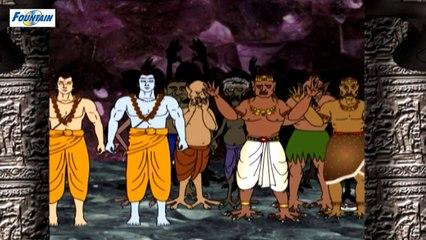 Ramayan - Maruti Ka Pataal Me Parakram - Bhojpuri