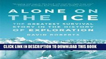 Best Seller Alone on the Ice: The Greatest Survival Story in the History of Exploration Free