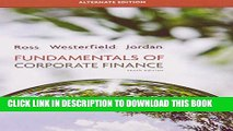 [FREE] EBOOK Fundamentals of Corporate Finance Alternate Edition (The Mcgraw-Hill/Irwin Series in