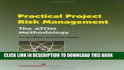 [FREE] EBOOK Practical Project Risk Management: The ATOM Methodology BEST COLLECTION
