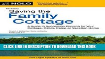 [READ] EBOOK Saving the Family Cottage: A Guide to Succession Planning for Your Cottage, Cabin,