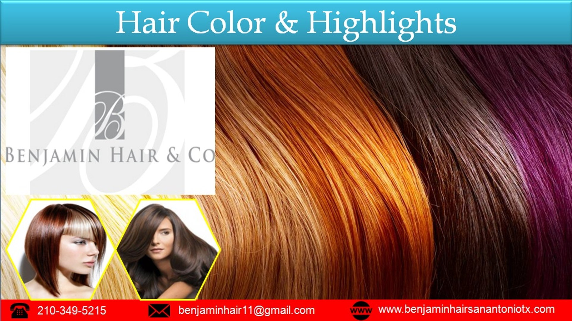 Hair Highlights & Hair Color Service - Benjamin Hair & Co.
