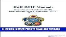 [READ] EBOOK DoD RMF Manual: Department of Defense (DoD) Risk Management Framework (RMF) Process