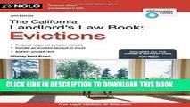 [PDF] California Landlord s Law Book, The: Evictions (California Landlord s Law Book Vol 2 :