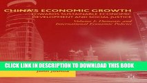 Read Now China s Economic Growth: Towards Sustainable Economic Development and Social Justice: