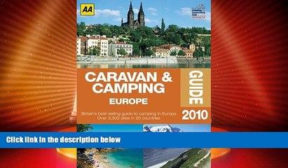 Buy NOW  Caravan   Camping Europe 2010 (Aa Caravan and Camping Europe)  Premium Ebooks Best Seller