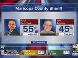 Maricopa County Sheriff Joe Arpaio defeated in re-election bid