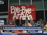 Election 2016: Bazta Arpaio celebrates Maricopa County Sheriff Joe Arpaio's defeat