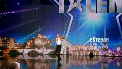 081116 - Incroyable Talent - Esteban Fayard