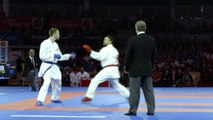 Relive top moments of quest for bronze in Male Kumite Team competition of Karate World Championship