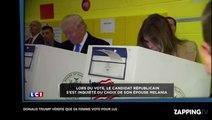 Élections américaines : Donald Trump s'assure que sa femme vote bien pour lui, la vidéo affole la...