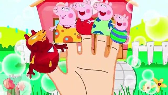#Peppa Pig English Doing Makeup Shopping #Spiderman #Venom #Finger Family Nursery Rhymes #mu0026m