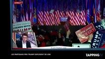 Elections américaines : Donald Trump devient le 45e PR des États-Unis, ses militants explosent de...