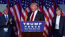 Revivez le premier discours de Donald Trump, 45e président des États-Unis