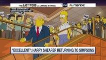 """En 2000, """"Les Simpsons"""" avaient prédit la victoire de Donald Trump - Regardez"""