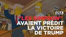 """""""Les Simpson"""" avaient prédit l'élection de Donald Trump"""
