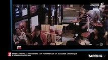Attentats du 13 novembre: Brahim Abdeslam se fait sauter, deux hommes tentent le réanimer (Vidéo)