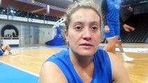 Basket Landes : la capitaine Julie Barennes avant la rencontre contre Fribourg
