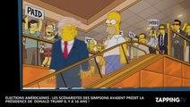 Élections Américaines : Les Simpson avaient prédit la victoire de Donald Trump dès l'an 2000 !