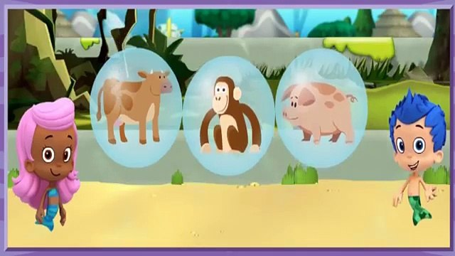 Bubble Guppies Lonely Rhino Friend Finders!