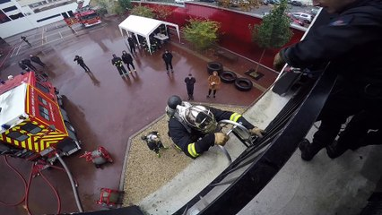 INSIDE US IVRY HB : Les Rouge et Noir chez les Pompiers !
