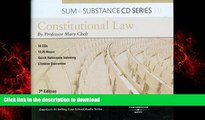 Read books  Sum   Substance Audio on Constitutional Law (CD) (Sum and Substance) online