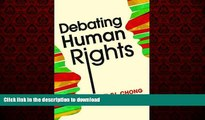 Read book  Debating Human Rights online for ipad