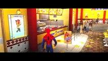 Disney Cars Pixar Spiderman Nursery Rhymes & Lightning McQueen USA (Songs for Ch
