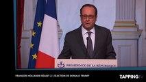 Élections américaines – Donald Trump Président : François Hollande le félicite par dépit (Vidéo)
