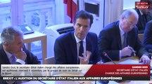 Brexit : L'audition du secrétaire d'Etat italien aux affaires européennes - Les matins du Sénat (09/11/2016)