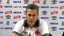 Jorginho admite momento difícil do Vasco, mas não desiste: 'Depende só de nós'