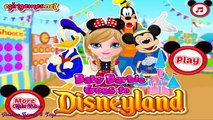 Baby Barbie Goes To Disneyland - Princess Barbie Dress Up Game for Girls 2016 HD