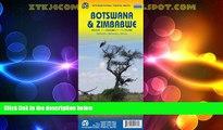 Big Deals  1. Botswana   Zimbabwe Travel Reference Map 1:1,5M/1:1,1M (International Travel Maps)