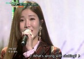 Davichi 다비치 - Love Is (Live) (With English Subs) HD