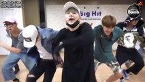 [ENG SUB - BANGTAN BOMB] BTS 'Silver Spoon' (Baepsae) Dance Practice (Excited Ver.)
